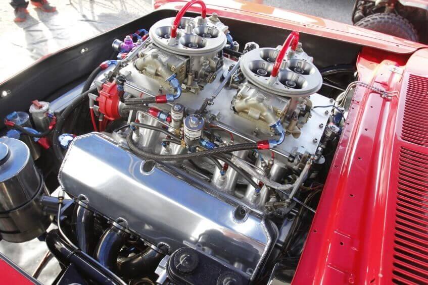Cilindrada do motor x Potência