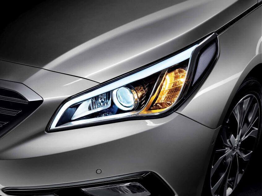 Revisão de carro: faróis e lâmpadsa