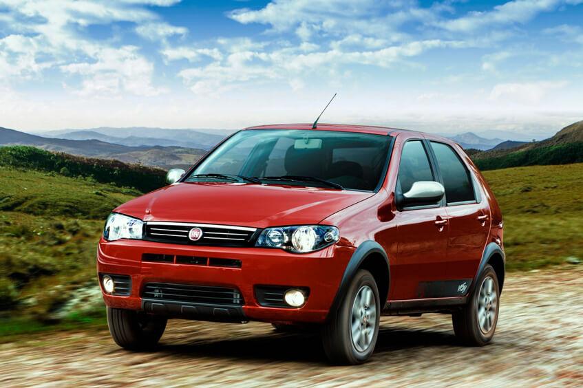 Fiat Palio - modelo até 2016