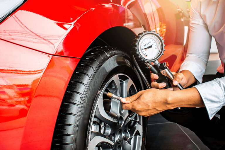 Calibrar o pneu