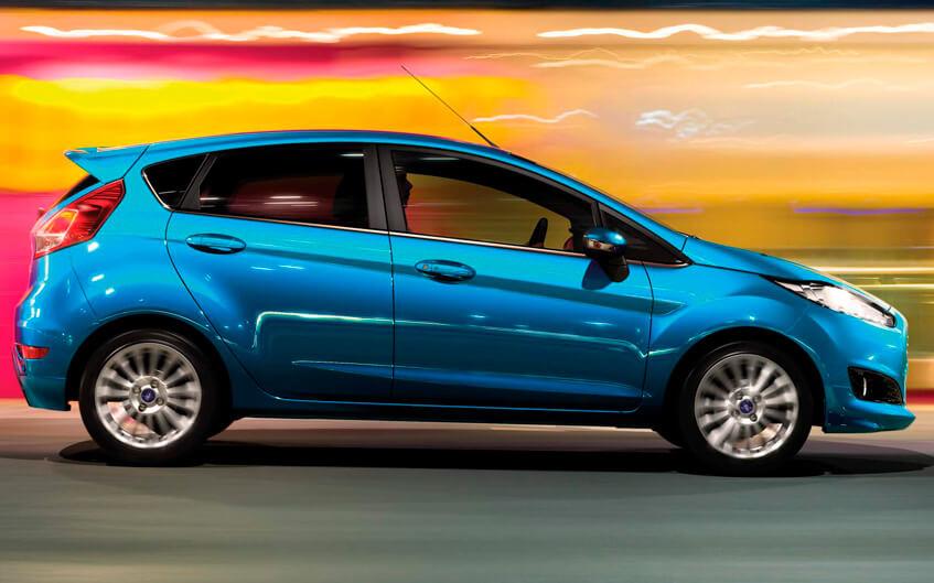 Modelos que sofrem menos com a desvalorização: Ford Fiesta