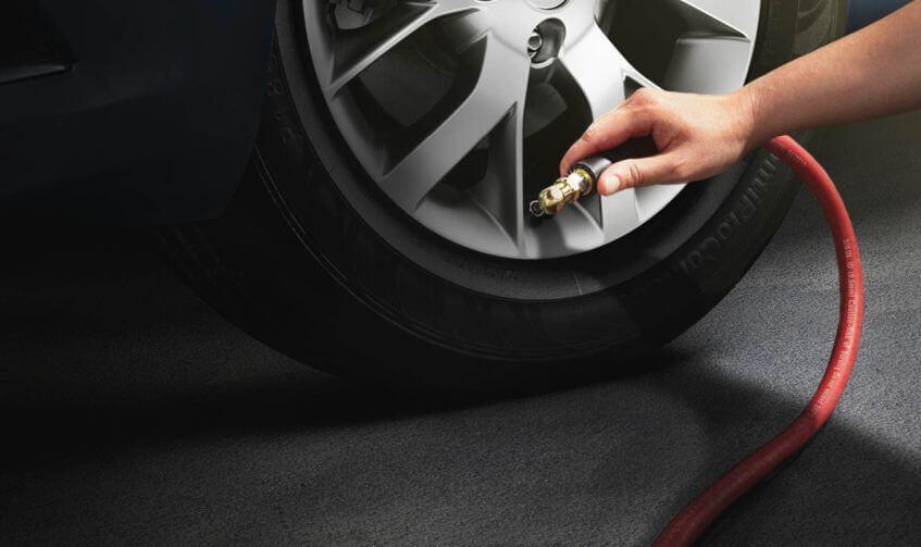 Calibre os pneus
