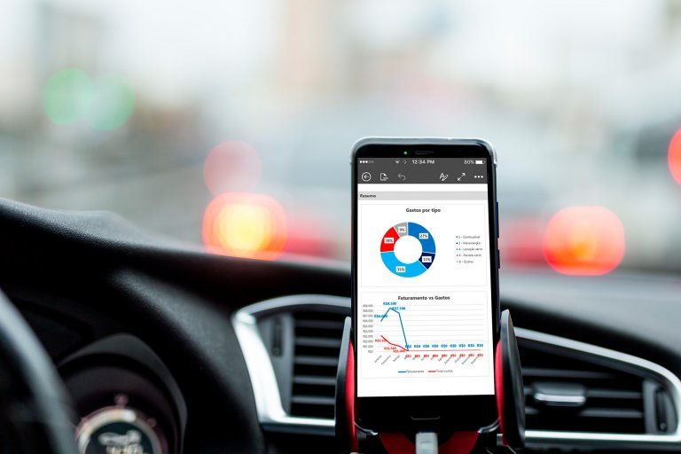 Planilha de controle financeiro Motorista de Aplicativo