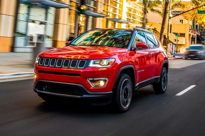 Carros seminovos de luxo - Jeep Compass
