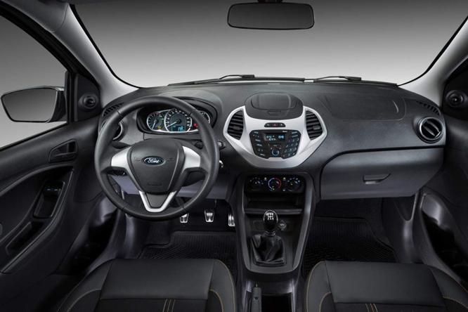 Interior Ford Ka Se 1.0 2019
