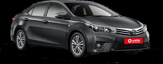Toyota Corolla - Carros para motorista de aplicativos