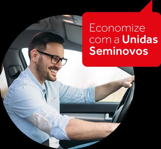 Carros para motorista de aplicativos na Unidas Seminovos